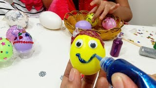 Mainan Mewarnai Telur Warna Warni 💖 Menghias Telur Anak Lebih Kreatif 💖 Let's Play Jessica Jenica 💖