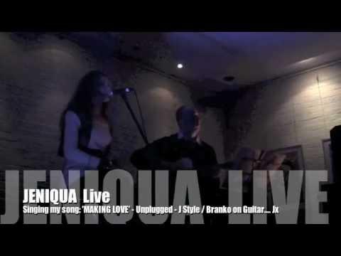 JENIQUA LIVE (singin My Song 'MAKING LOVE'  J Style & Bpoz On Guitar Sydneyside June 2011)