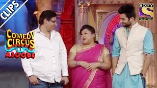 Bharti Flirts With Vashu & Jackky Bhagnani   Comedy Circus Ke Ajoobe