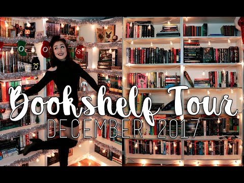 BOOKSHELF TOUR l December 2017 (650+ books!!!!)