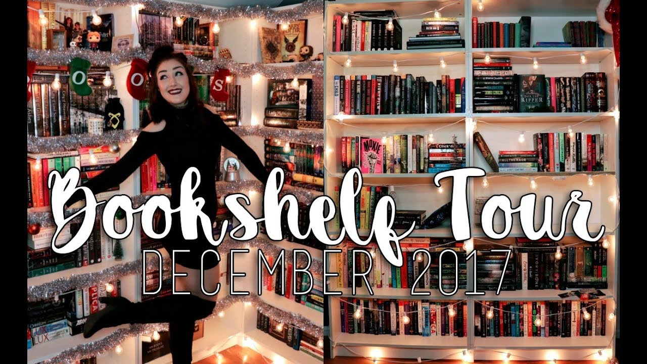 BOOKSHELF TOUR L December 2017 650 Books