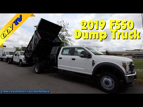 New 2019 Ford F550 XL Dump Truck | Work Vehicles - Quick REVIEW