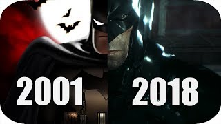 THE Evolution of Batman Games 2001-2018