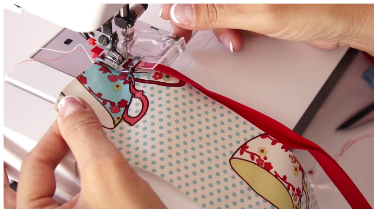 How to use a Bias Binding Sewing Machine Foot