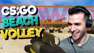 DUEL CS:GO Beach Volley vs HOUNGOUNGAGNE! Le COMEBACK ?!
