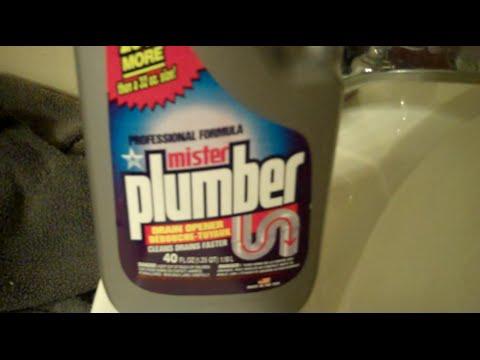 Dollar Tree Product Review:  Liquid Plumber vs  Mr  Plumber