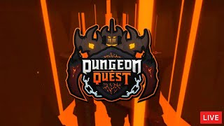 🔴*NEW* DUNGEON QUEST UPDATE *VOLCANO MAP* ROBLOX LIVE