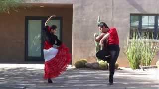 Flamenco Dance Phoenix, Chili and Chocolate fest at Desert Botanical Gardens Sevillanas Arizona