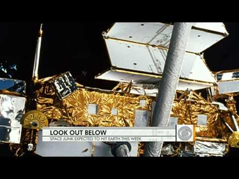 Space junk: satellite heading for Earth