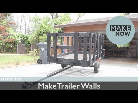 How To: Make Trailer Walls