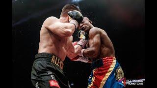 WBC Silver   Жесткий бой   Нокдаун   Илунга Макабу, Конго vs Алексей Папин, Россия   Full HD