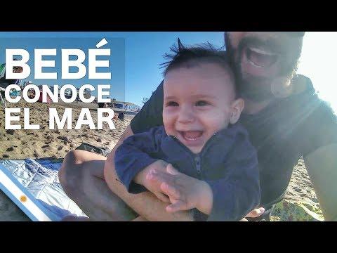 MI BEBÉ CONOCE EL MAR - VLOG #005