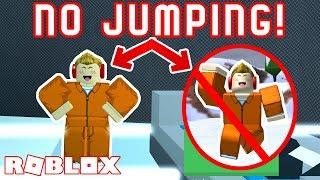 NO JUMP CHALLENGE in Roblox Jailbreak! *EXTREME*