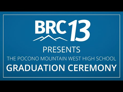 2020 Pocono Mountain West High School Graduation Ceremony