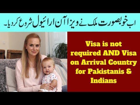 visa-on-arrival-for-pakistani-&-indians