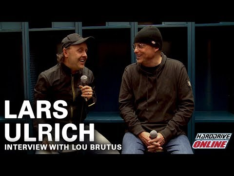 Metallica's Lars Ulrich interview with hardDrive Radio's Lou Brutus