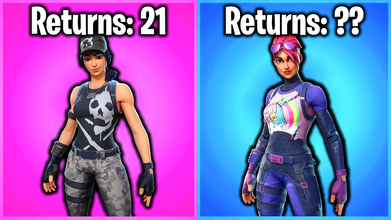 Top 10 Most Common Shop Skins In Fortnite Youtube