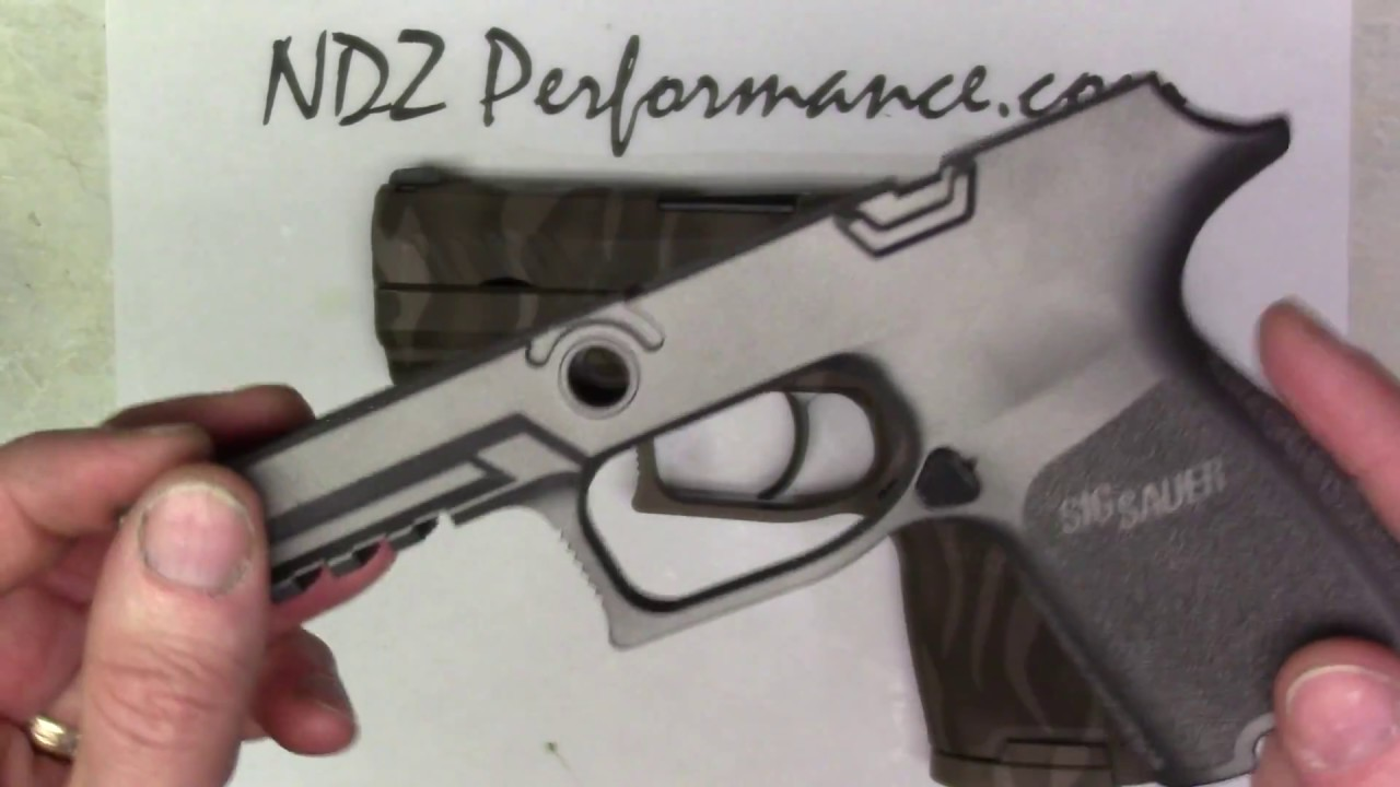 Cerakote Colors & Patterns on Sig P320 Grip Modules offered by NDZ