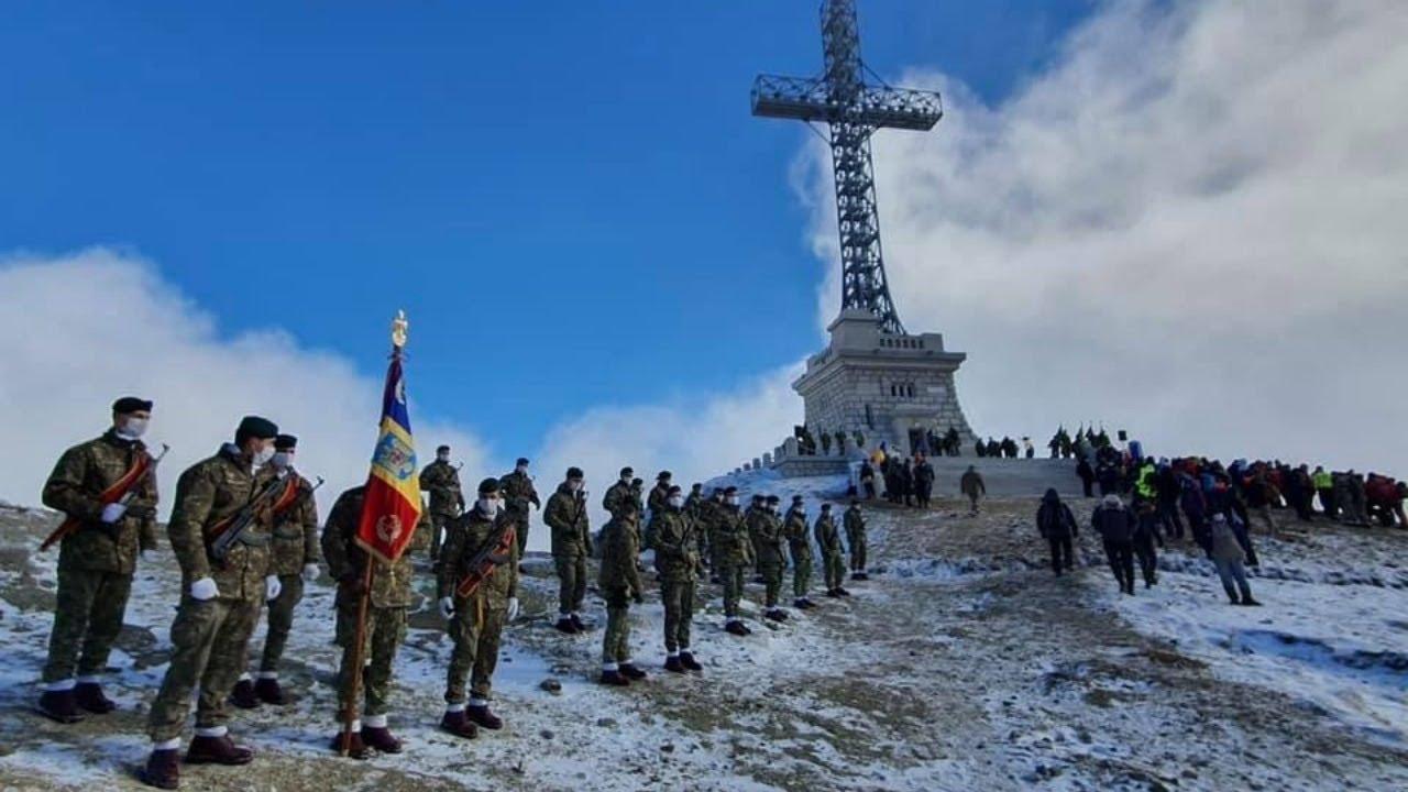 Ziua Nationala a Romaniei_ Crucea Eroilor de pe Caraiman_1 Decembrie 2020