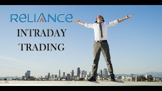 Intraday trading strategy in stock market -RELIANCE