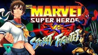 Marvel Super Heroes vs. Street Fighter [Sin emulador - APK FULL] | Android