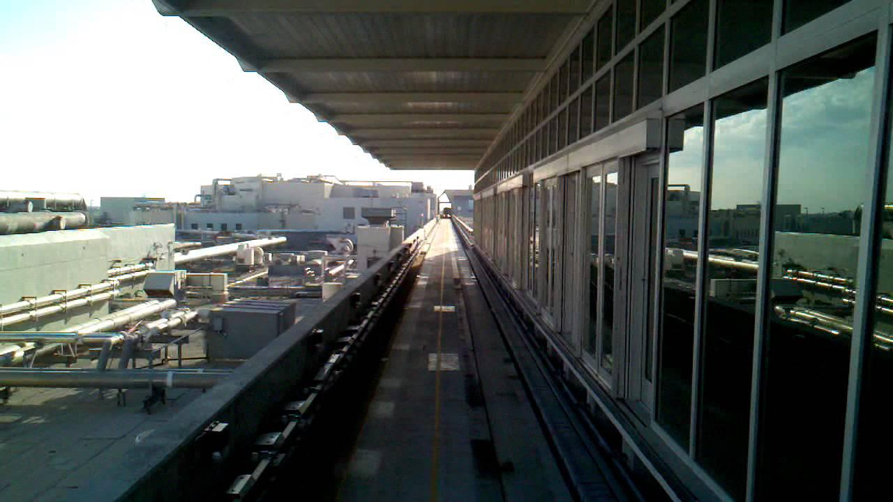 miami airport skytrain - 5/24/11 - youtube