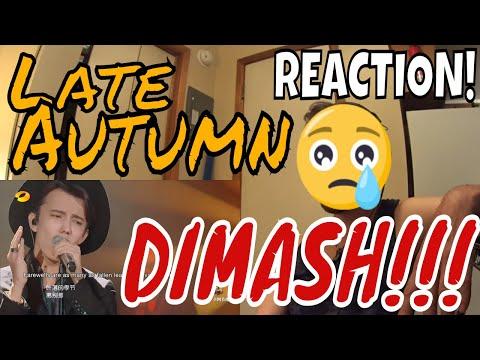 DIMASH - AUTUMN STRONG - Late Autumn - Singer 2017 - ROCK MUSICIAN REACTION!