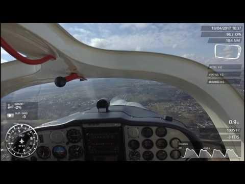 PPL - Traffic circuit flight (EYKS)