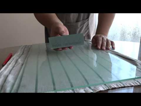 Flattening and conditioning a brand new Swatycomet silicon carbide / carborundum sharpening stone