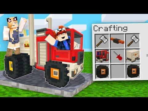 BUDUJEMY EPICKIE CIĘŻARÓWKI W Minecraft? | Vito I Bella