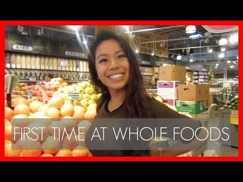 FIRST TIME AT WHOLE FOODS! | LifeWithGer Vlogs (#16)