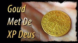Goud met de XP Deus metaaldetector