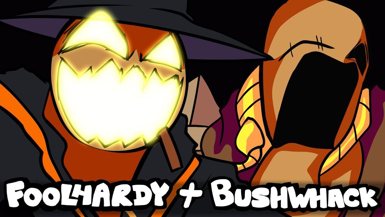 FNF Zardy Bushwhack + Foolhardy Full Album | VS Zardy Mod OST - Friday Night Funkin'
