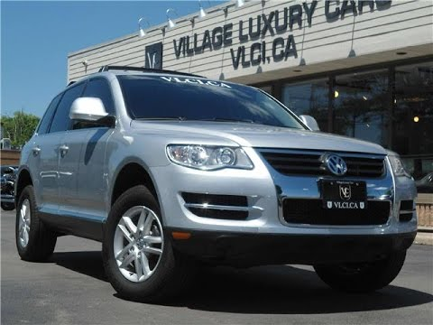 2010 Volkswagen Touareg in review - Village Luxury Cars Toronto