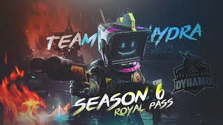 PUBG MOBILE LIVE | SEASON 6 NEW UPDATE & ROYAL PASS | SUBSCRIBE & JOIN ME