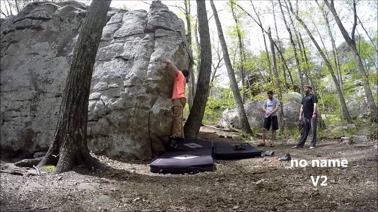 Stone Fort Bouldering Lrc V1-v3