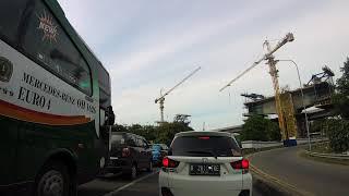 Macet Parah di Tol Cikampek-Jakarta KM 30 Cikarang Barat 02 Jan 2020   Timelapse Ezviz S5 1080P
