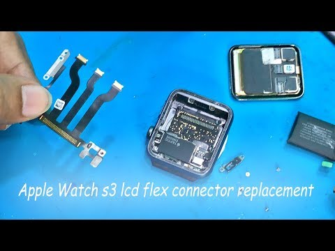 apple watch series 3 lcd flex connector replacement