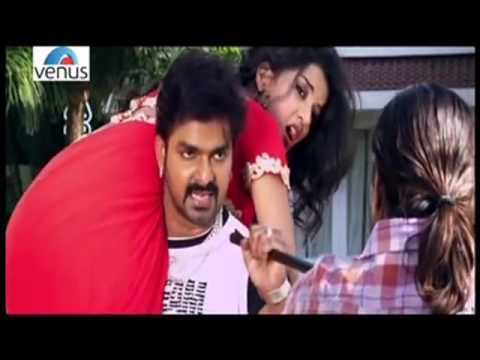 Pawan Singh &  Monalisha Hot Scene !! Ziddi Aashiq