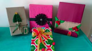 Christmas Gift Wrapping Ideas | Gift Toppers And Gift Tags