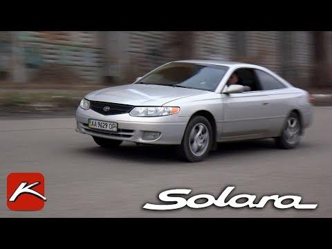 Toyota Solara тест драйв