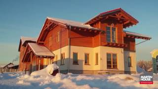 MARTIN HOUSE   Настоящие экодома - монтаж дома Санкт Петербург