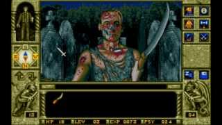 Elvira III Waxworks (MS-DOS) Intro und Gameplay