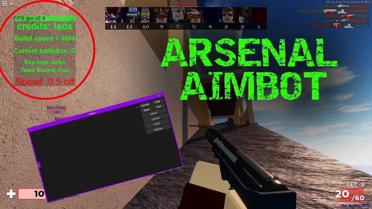 Arsenal Aimbot GUI script pastebin YouTube