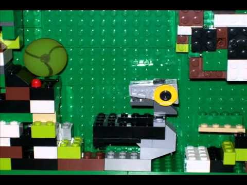 LEGO Metroid Escape from Zebes - YouTube