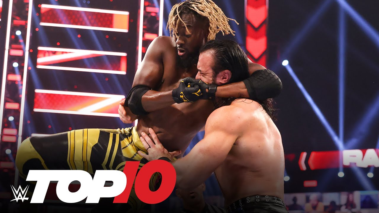 Top 10 Raw moments: WWE Top 10, May 24, 2021