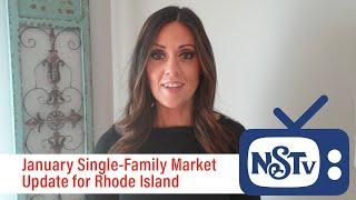 NSTV   Rhode Island Real Estate Market Update for January 2021