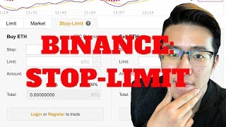 How to Use Stop-Limit Order on Binance | Why Should You Use Stop Limit