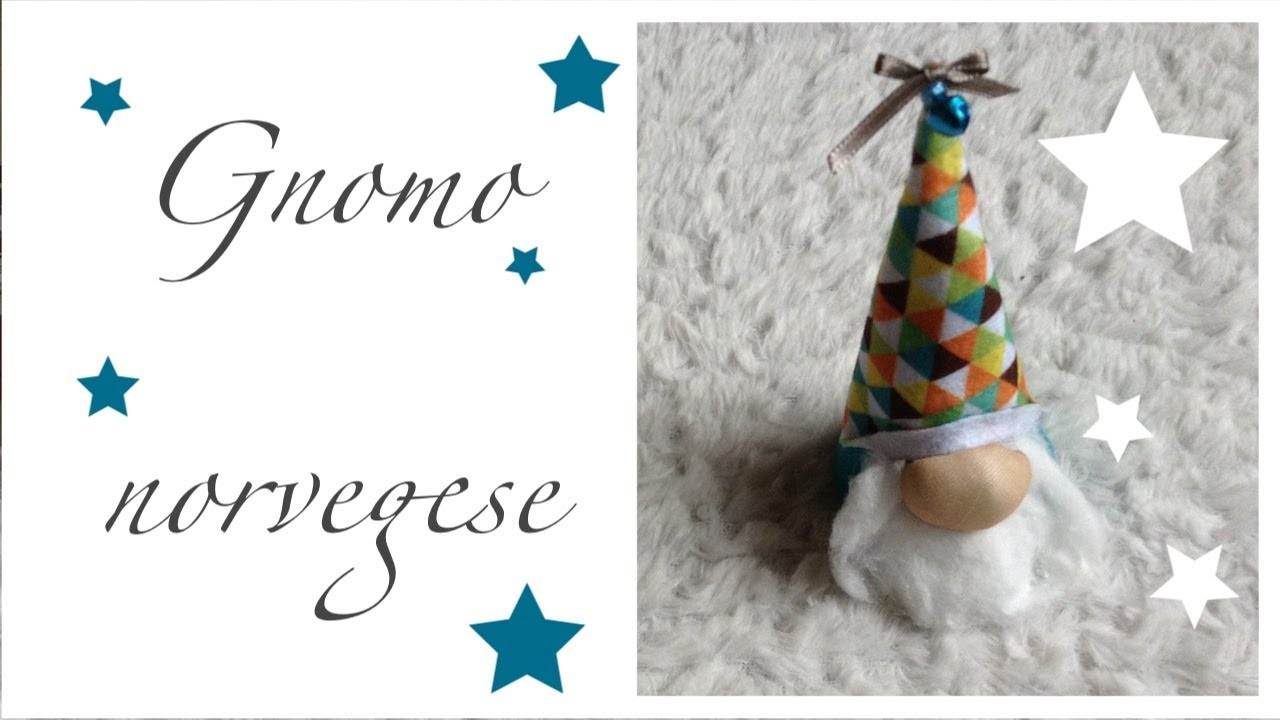 Creazioni natalizie riciclo creativo tutorial gnomi fai for Fai da te creazioni