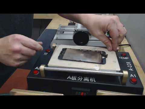 How to Refurbish iPhone 7 Glass Only CP Frames, OCA & Polarizer All-In-One www.refurbtraining.com